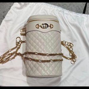 Gucci Interlocking Zumi Quilted Bucket Bag 572298